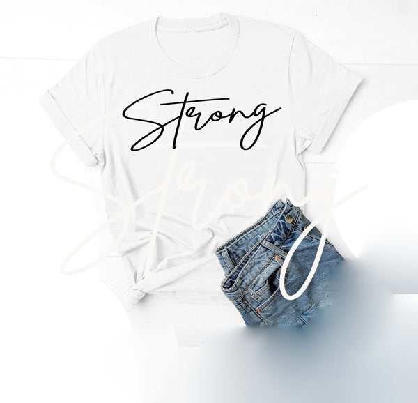 Being Me. Strong Womens Graphic Tee  | Positive Affirmations T shirts | Short Sleeve Top