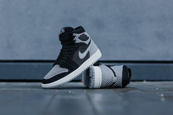 Air Jordan 1 Retro High Flyknit 'Shadow' GS 919702-003