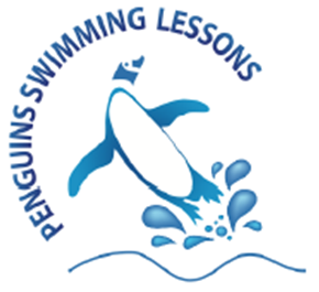 Penguins Swimming Lessons Logo