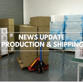 PRODUCTION UPDATE & FINAL SHIPPING SCHEDULES