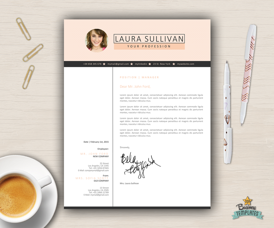 elegant resume template word creative cv photo elegant resume template word creative cv photo topbusinesstemplates