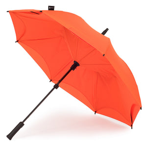 KAZbrella, KAZ, KAZ Designs, Umbrella, KAZ Umbrella, Straight, Straight Handle, Orange, Orange / Orange, Open,