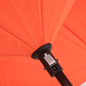 KAZbrella, KAZ, KAZ Designs, Umbrella, KAZ Umbrella, Curve, Curved, Curve Handle, Orange, Orange / Orange, Detail,