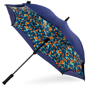KAZbrella, KAZ, KAZ Designs, Umbrella, KAZ Umbrella, Straight, Straight Handle, Limited edition, Jazz, Open