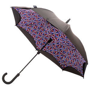 KAZbrella, KAZ, KAZ Designs, Umbrella, KAZ Umbrella, Curve, Curved, Curved Handle, Limited edition, Kaleidoscope, Curved