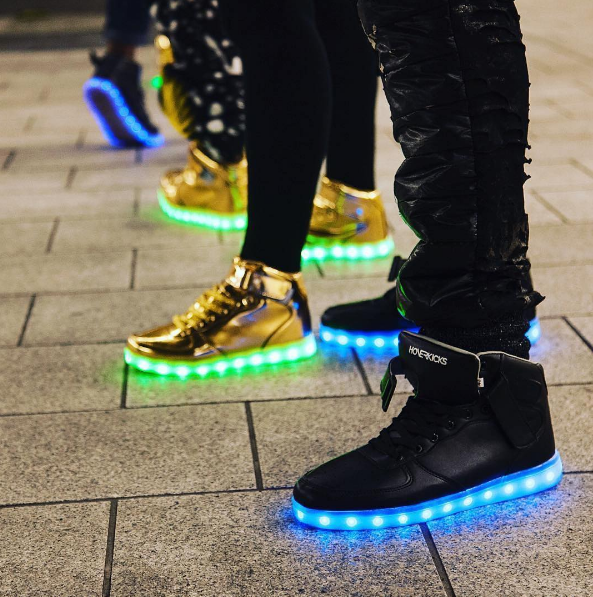 The Evolution of Light Up Sneakers: From LA Lights to HoverKicks