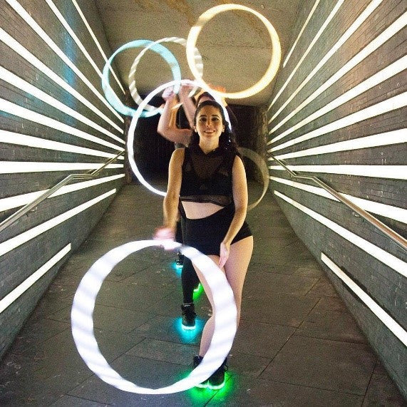 Light up Shoes are This Summer's Music Festival Necessity