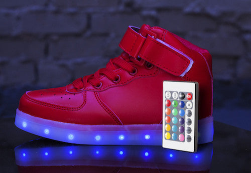 Light Up Sneakers With Remote Control Hoverkicks Blog