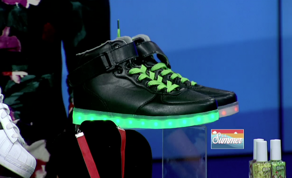 HoverKicks' Light Up Shoes Just Got Featured on News 12 Long Island