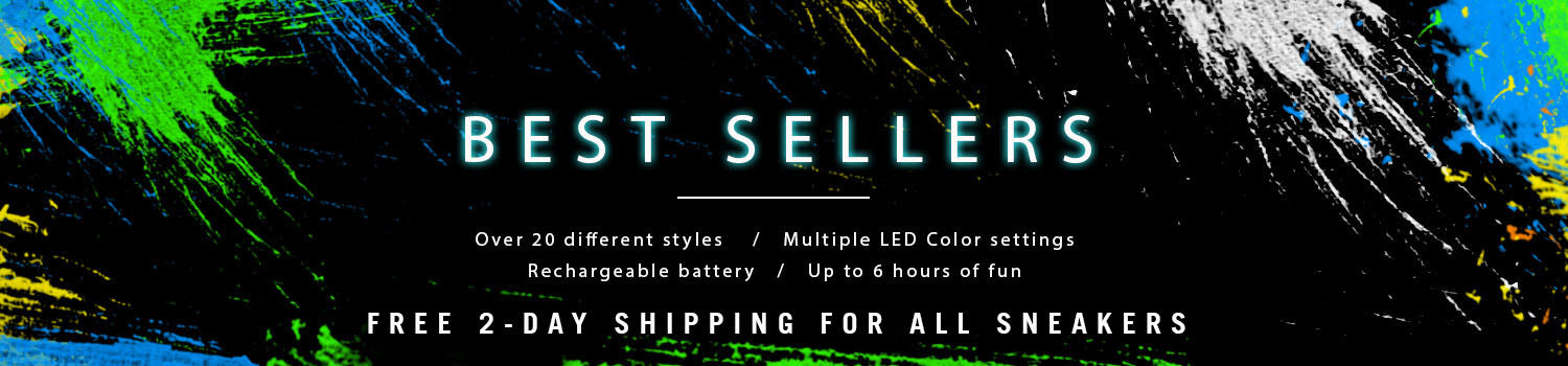 Best Sellers - LED Light Up Shoes