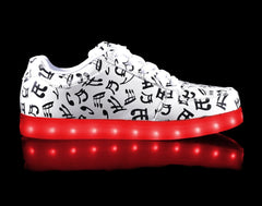 HoverKicks Music Notes Nova light up shoes - $69.00