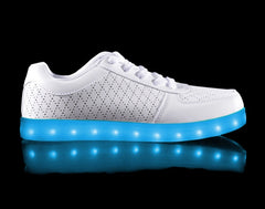 HoverKicks Perf White Nova light up shoes - $69.99