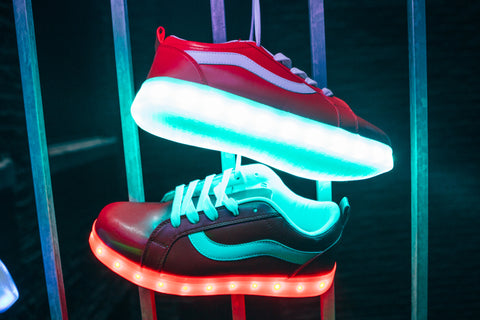 HoverKick Spectral  Light Up Shoes in Red