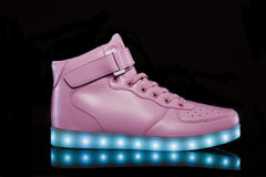 Super Nova Light Up Shoe in Light Pink - HoverKicks