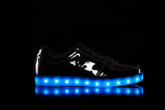 Patent Light Up Shoe