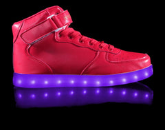 HoverKicks light up shoes - Super Nova in Red - $79.99