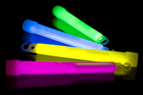 Glow Sticks at Music Festivals