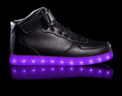 HoverKicks Super Nova light up shoes in Black - $79.99