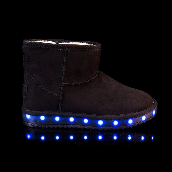 Boots with LED lights