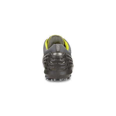 ECCO MENS CAGE EVO GOLF SHOES - Sulphur-Concrete/Black - IN STOCK