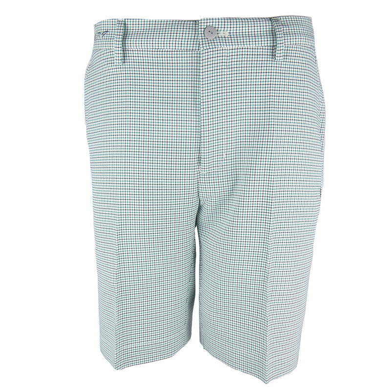 Greg Norman Mens Tattersall Shorts - GROVE