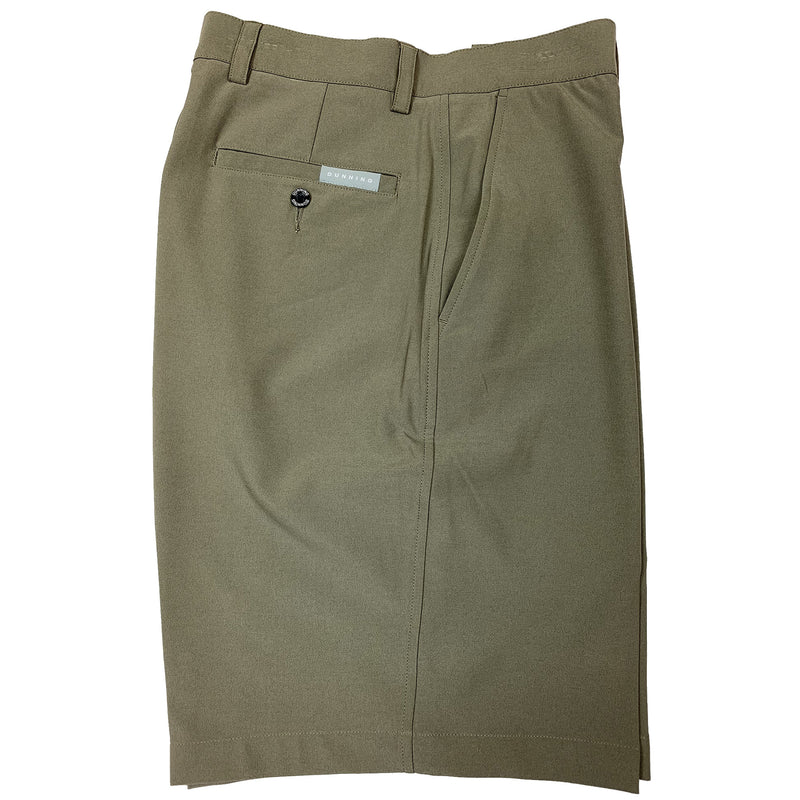 Dunning Golf Interface Stretch Performance Flat Front Shorts - Martin