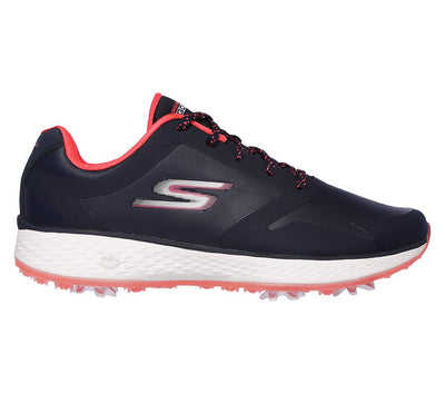 SKECHERS WOMENS GO GOLF EAGLE PRO - NAVY / PINK
