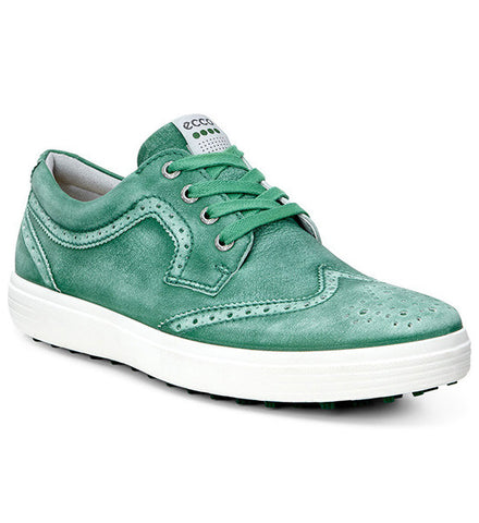 ECCO Men's Golf Casual Hybrid Golf Shoes - Lawn Green