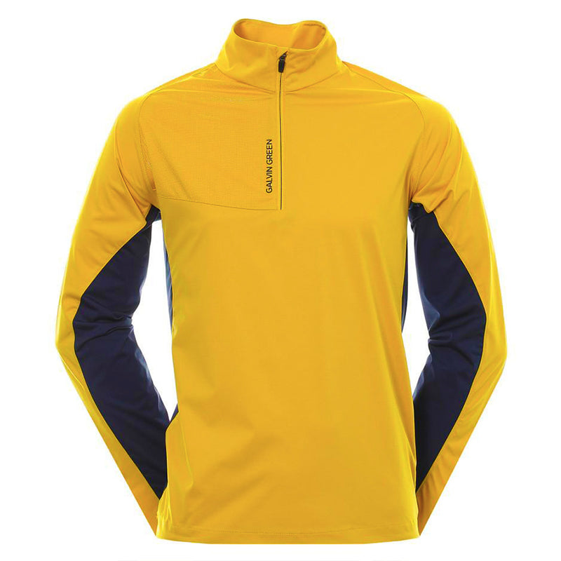 Galvin Green Mens LINCOLN Interface-1 Golf Jacket - GOLD / NAVY