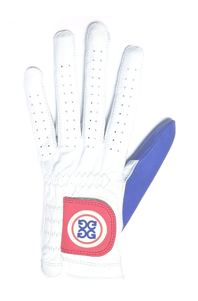 60dcf5e99bc G/Fore Women's Left-Hand Golf Glove - Red/White/Blue - Golf Anything US