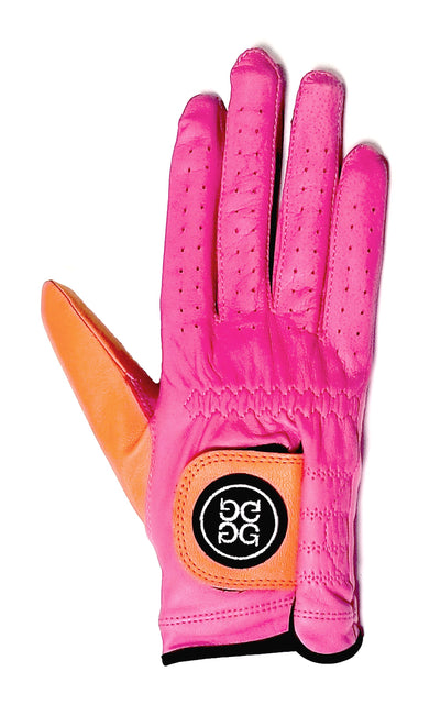 G/Fore Women's Right-Hand Golf Glove - Blossom/Orange