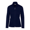 Greg Norman Women's Jacquard Knit Jacket - NAVY