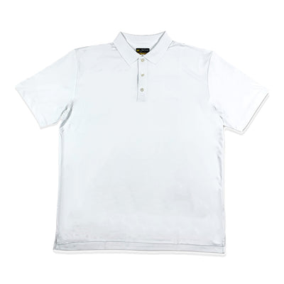Jack Nicklaus Mens Original Stretch Polo  - Bright White