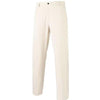 Dunning Interface Stretch Performance Flat Front Pants - White