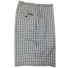 Dunning Golf Stretch Echoplex Shorts - White Plaid