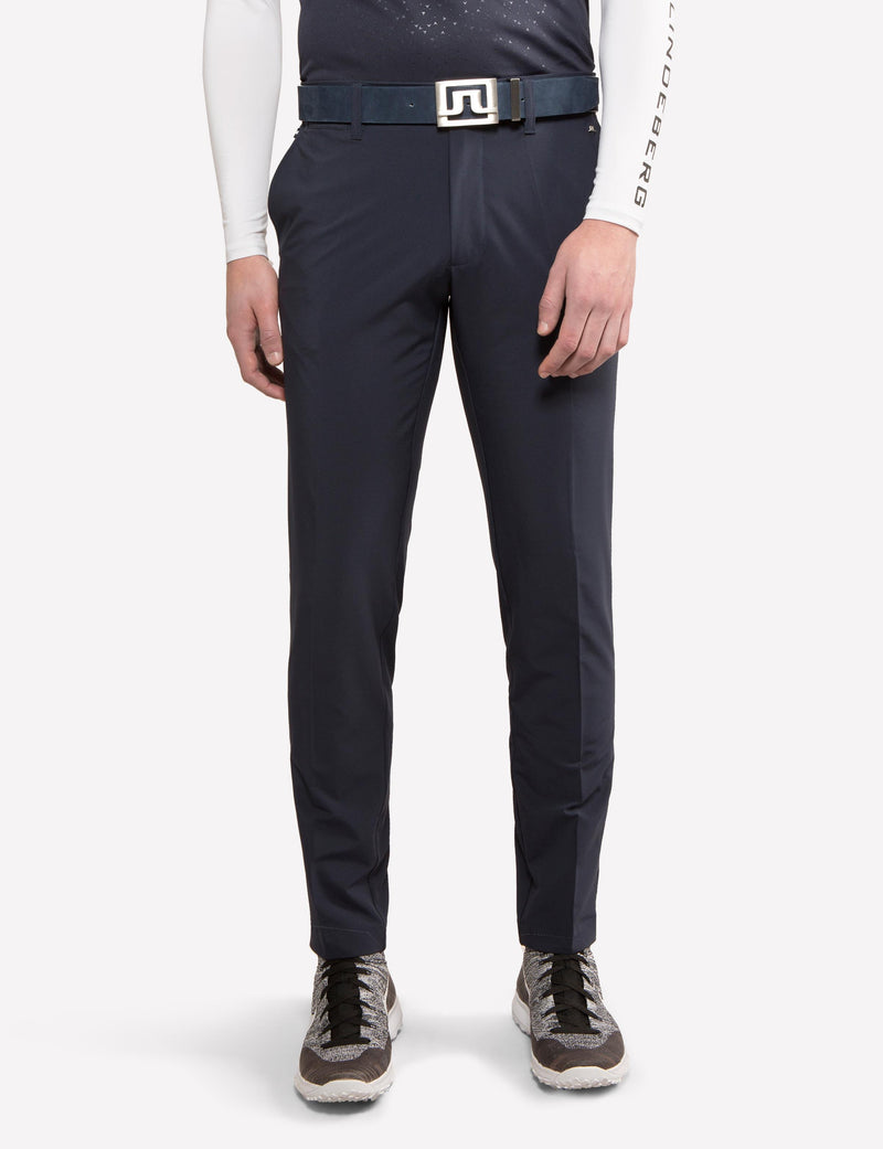 J Lindeberg Men's Ellott Tight Fit Mirco Stretch Pants - JL NAVY