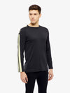 J Lindeberg Men's Camron Double Mesh - BLACK