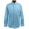 Abacus Bangor Long Sleeve Button Down - Lagoon