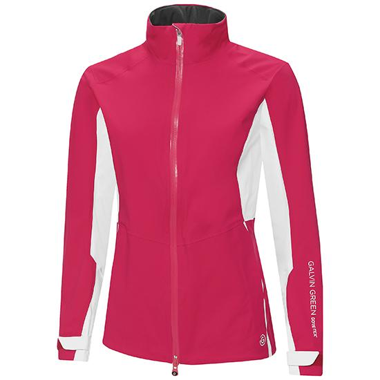 Galvin Green Womens ALICIA GORE-TEX PACLITE Jacket  - AZALEA/WHITE