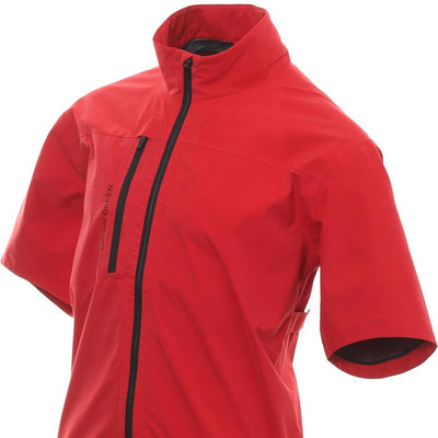 Galvin Green Mens ALVIN Paclite Gore-Tex Waterproof Jacket - RED