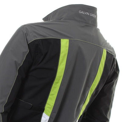 Galvin Green Mens ALDRIN Paclite Gore-Tex Waterproof Jacket - IRON / APPLE