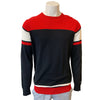 Abacus Men's Bite Sweater - Black-Red-White