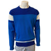 Abacus Men's Bite Sweater - Blue - White