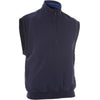 Proquip Mens Aquasoft 1/2 Zip Mock Neck Wind Vest - NAVY
