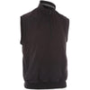Proquip Mens Aquasoft 1/2 Zip Mock Neck Wind Vest - BLACK
