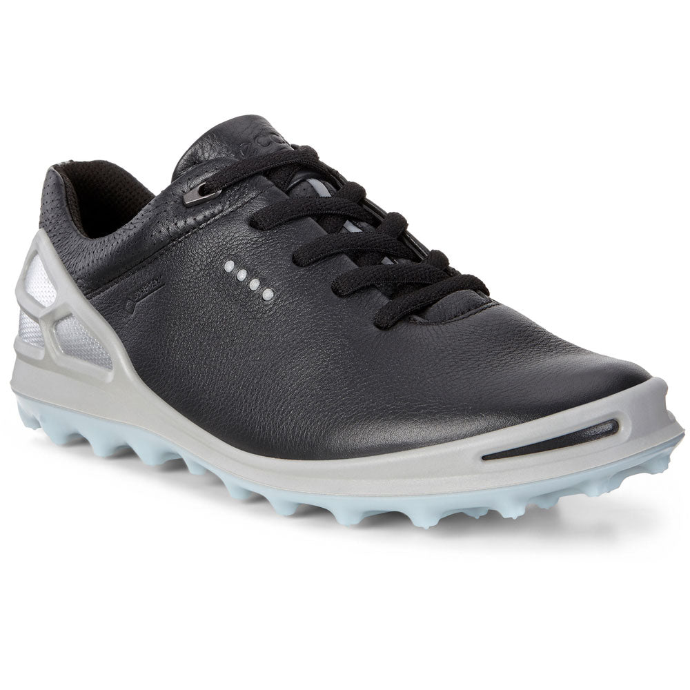 on wholesale good texture detailed pictures ECCO WOMENS CAGE PRO GTX (GORE-TEX) GOLF SHOES - BLACK/ARONA