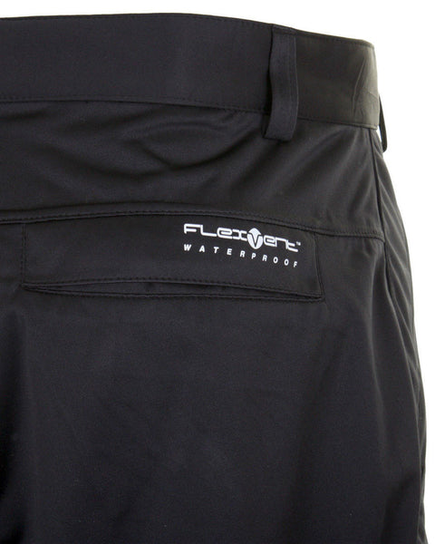 SUNICE BRANDON FLEXVENT WATERPROOF RAIN PANTS - BLACK