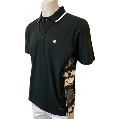 Bally Golf Men's Black Polo - Size EU 50=Small-US