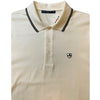 Bally Golf Men's White Polo - Size EU 50=Small