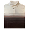 Straight Down Men's Logan Polo - Brown - Beige